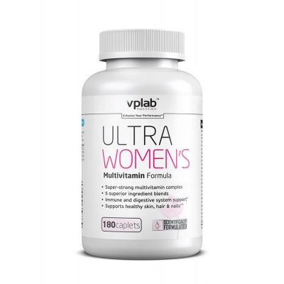 Витамины VPLab Ultra Women`s Multivitamin Formula 180 кап