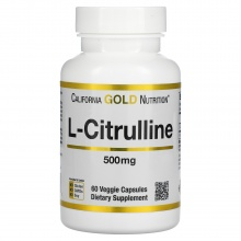 Аминокислота California Gold Nutrition L-CITRULLINE 60 caps