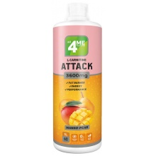 Л-Карнитин 4me nutrition L-carnitine+Guarana Attack 3600  1000 мл